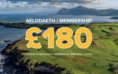 Become a member at Nefyn for only £180